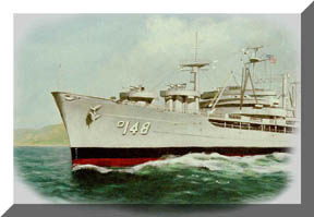 Painting by Huntzinger, 2003, copyrighted.
